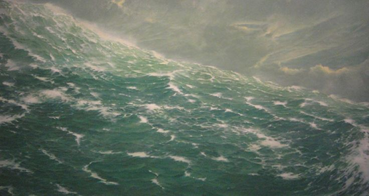 The Emerald Drift - Tim Storrier