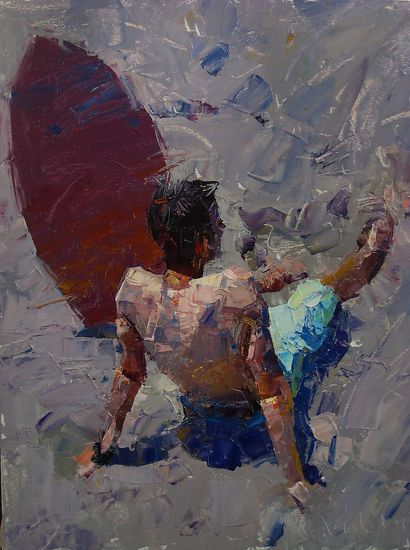 Take A Break_Surfer Boy by Paul Cheng (shown below) was awarded 2nd Place in the December 2011 BoldBrush Painting Competition and was selected as a December Finalist in the Raymar Art Painting Competition.