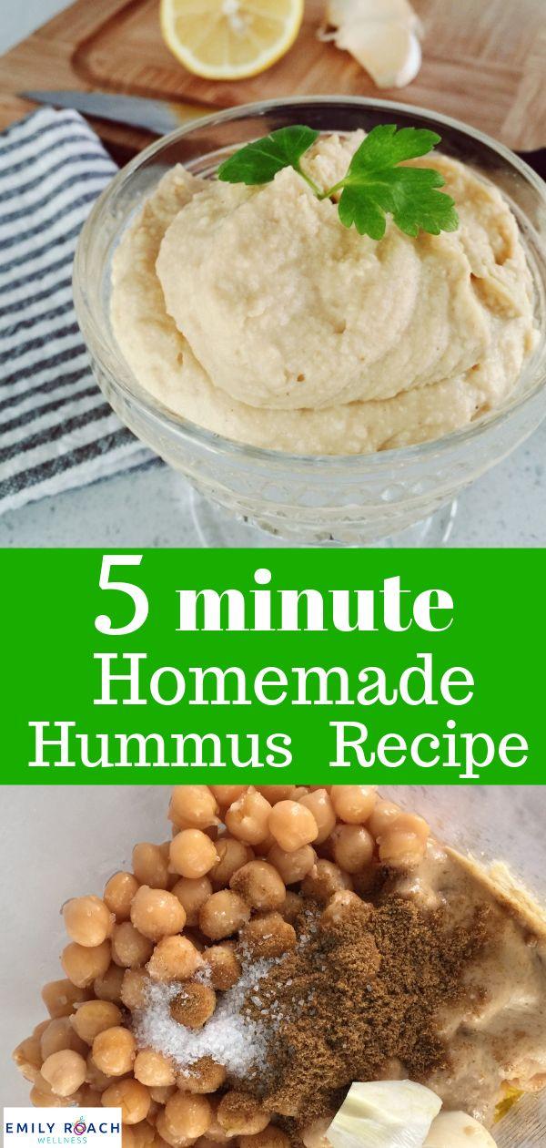 Lecker, EINFACH 5 MINUTEN Hummus!    – Healthy Recipes for Kids!
