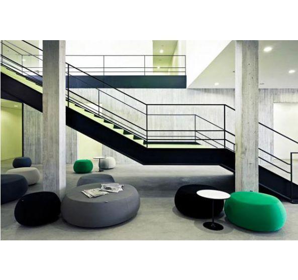 30 best Pufs images on Pinterest Beanbag chair, Offices and Poufs - küchen wanduhren design