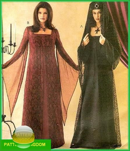 Renaissance Wedding Dress Costume History Mccall S By Heychica: 25+ Best Ideas About Vampire Dress On Pinterest