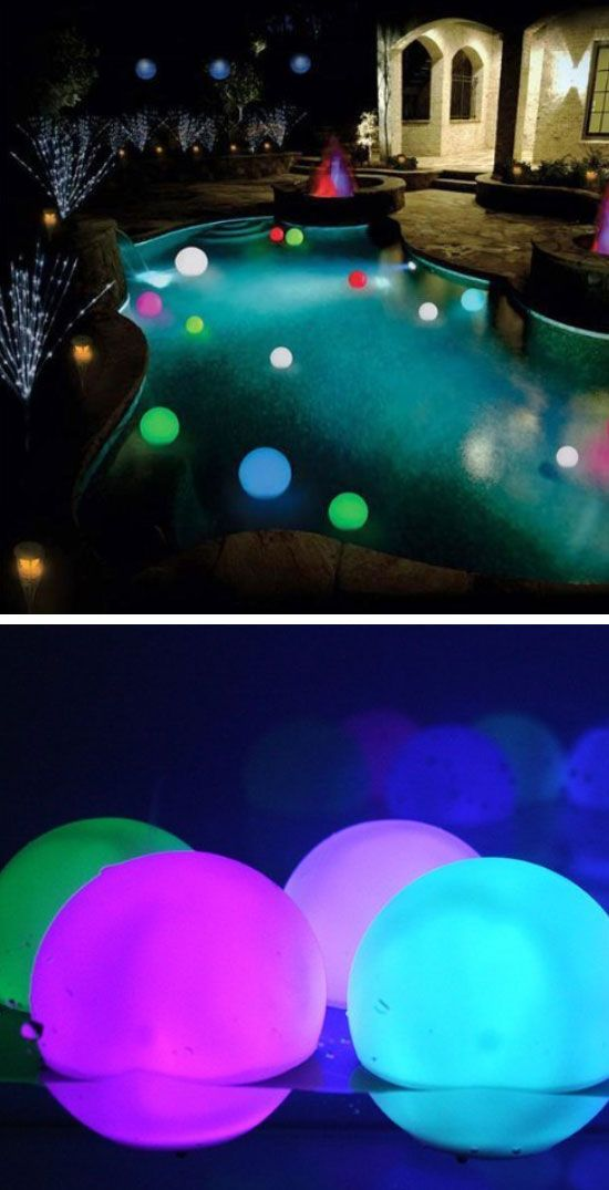 Floating Light Up Orbs | Fun Things to Do in the Summer for Teens | Summer Party Ideas for Adults Backyards