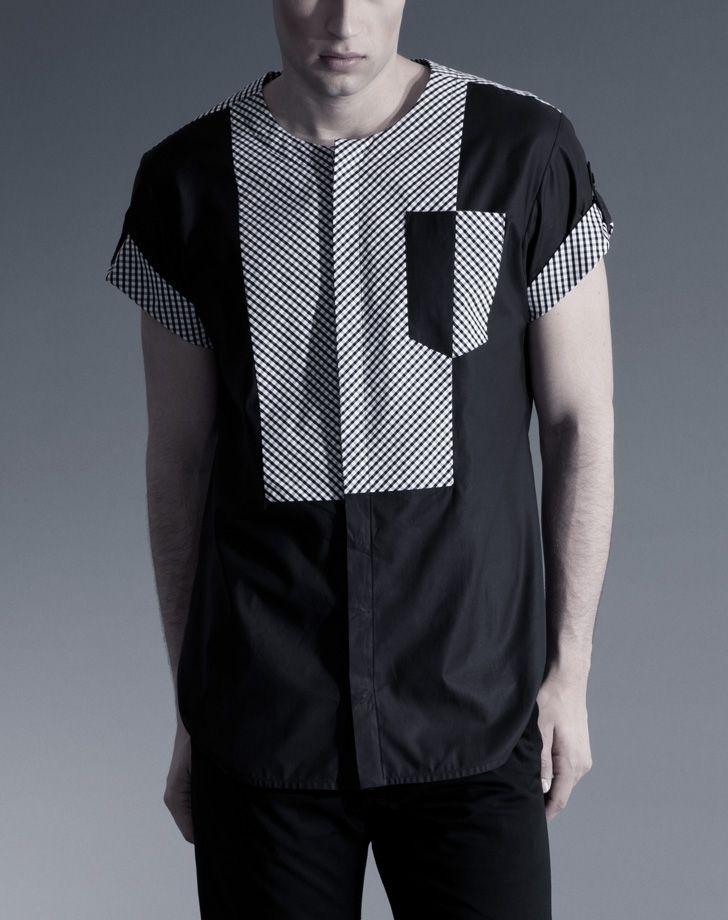 košile Loft Black