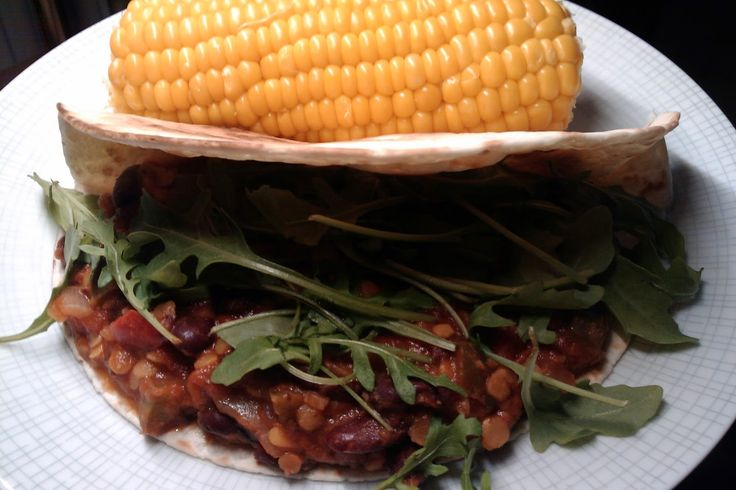 Bonen, burrito's en maïs – ZuiverSap