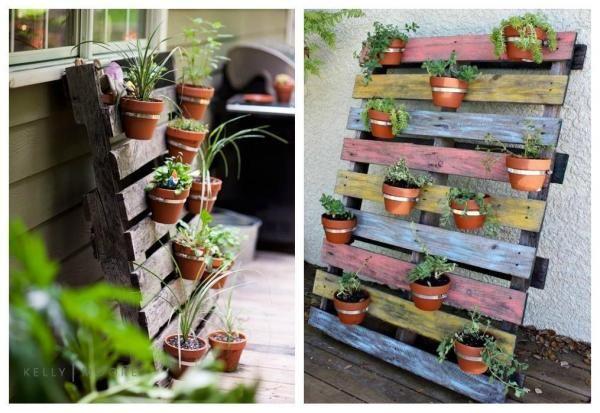 Idées recyclage & jardinage