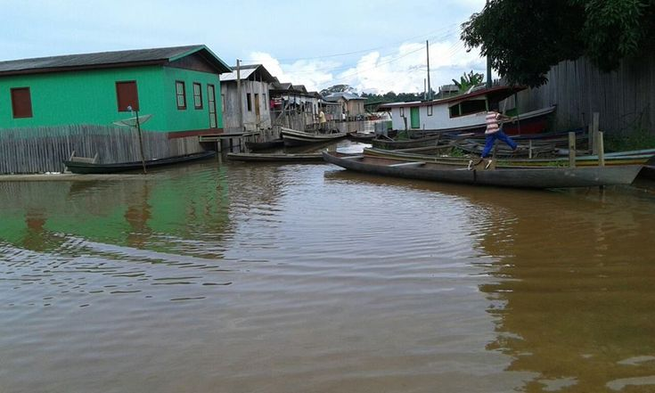 03/10/2017 - The Juruá river in the northern state of Amazonas, Brazil, has overflowed affecting more than 6,000 families in four municipalities.
