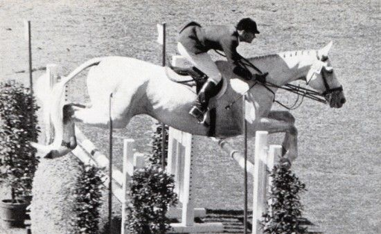 William Steinkraus on Ksar d'Esprit at the Olympics in Rome 1960