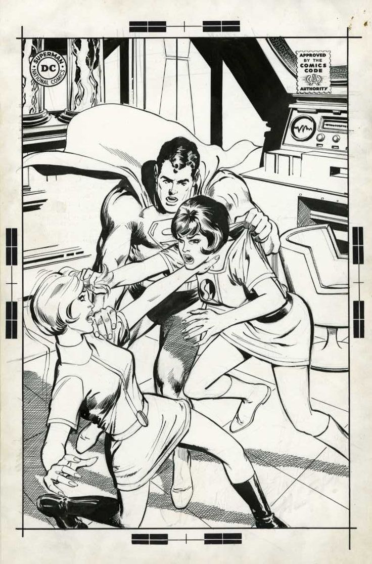 Neal Adams - Unused Cover for Lois Lane 87 Comic Art