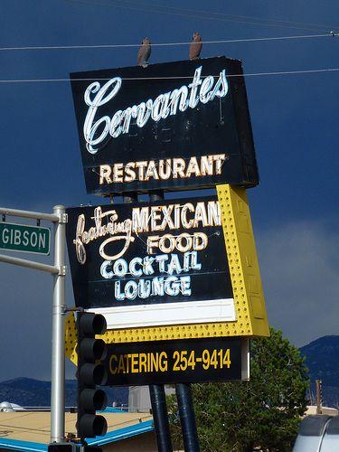 Cervantes New Mexican Restaurant Albuquerque