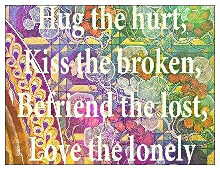 ☮ American Hippie Quotes ~ Love others