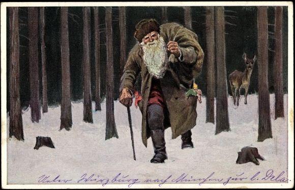 Knecht Ruprecht, 1917  by Paul Hey