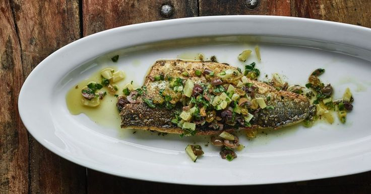 Palestinian celebrity chef Sami Tamimi explains how to make this delicious sea bass with za'atar, the most popular herb mixture of the Levant