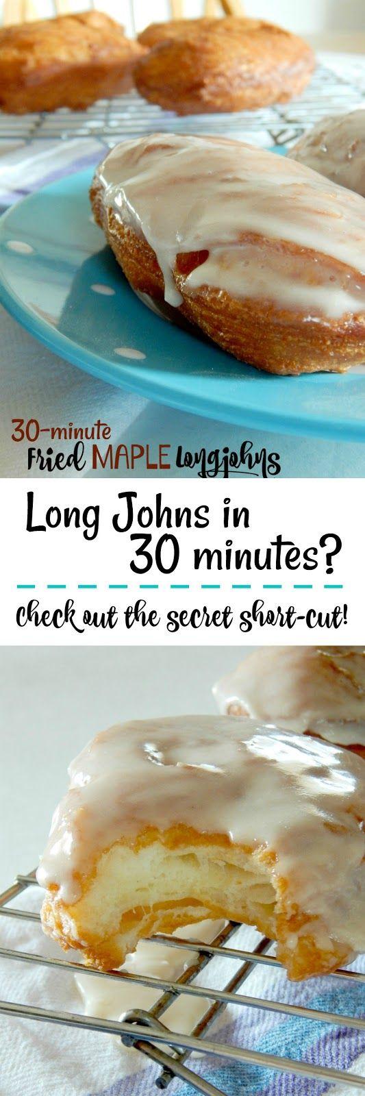 30-Minute Fried Maple Long Johns...a new short-cut…