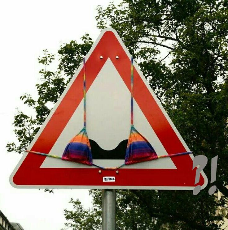 Grappige verkeersborden