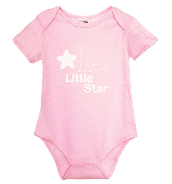 Pink Bodysuit for your little Princess! It is available now here! http://wondersfashion.pl/girls-bodysuit-little-star-baby-p-6.html