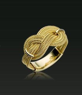 Anel de ouro Vivara