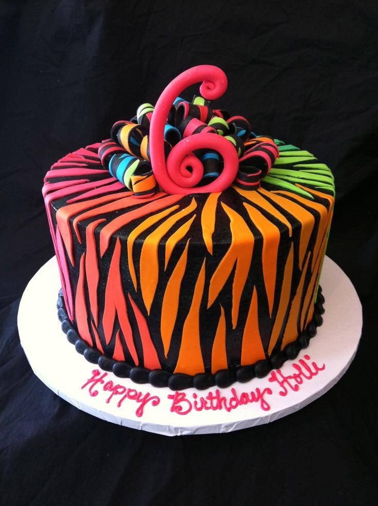 The 25+ best ideas about Zebra Print Cakes on Pinterest ...
