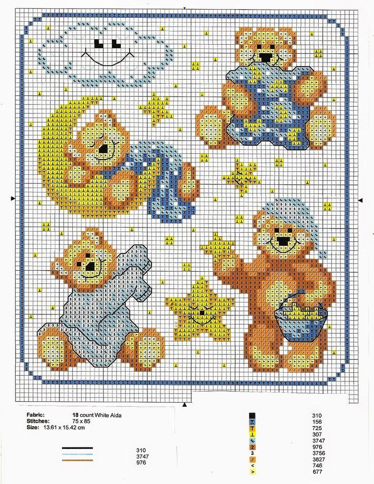 Le 25 migliori idee su orsetti per bambini su pinterest for Orsetti a punto croce schemi