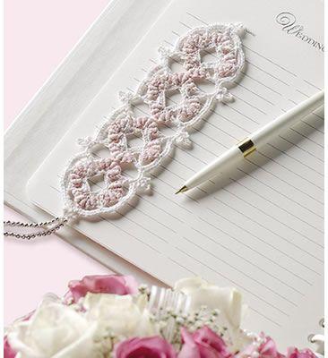 Thread Crochet Bookmark Free Patterns/ fans | Crochet Filet Thread Bookmark Chain Link Design Beginner Free Pattern