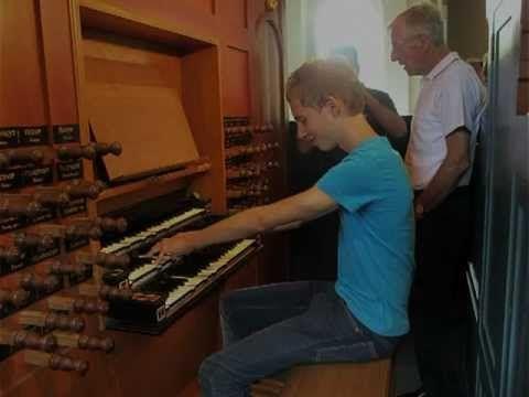 Improvisatie 'Eens, als de bazuinen klinken' - Gert van Hoef