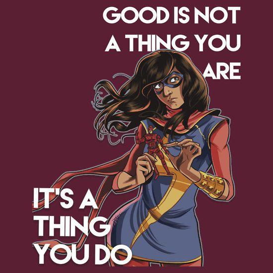 Ms. Marvel Kamala Khan - A Thing You Do