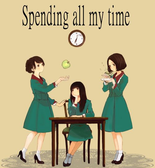 sirousagimoon: 「Spending all my time」/「脳」のイラスト...