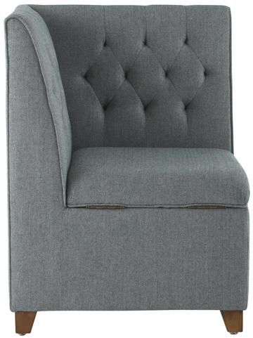 adalyn corner storage bench upholstered