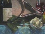 A portrait about Jenny. Oils on panel