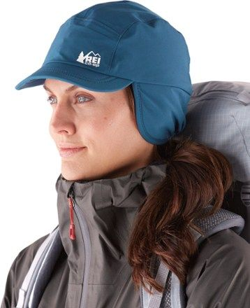 REI Co-op Insulated Waterproof Hat Mineral Water L/XL