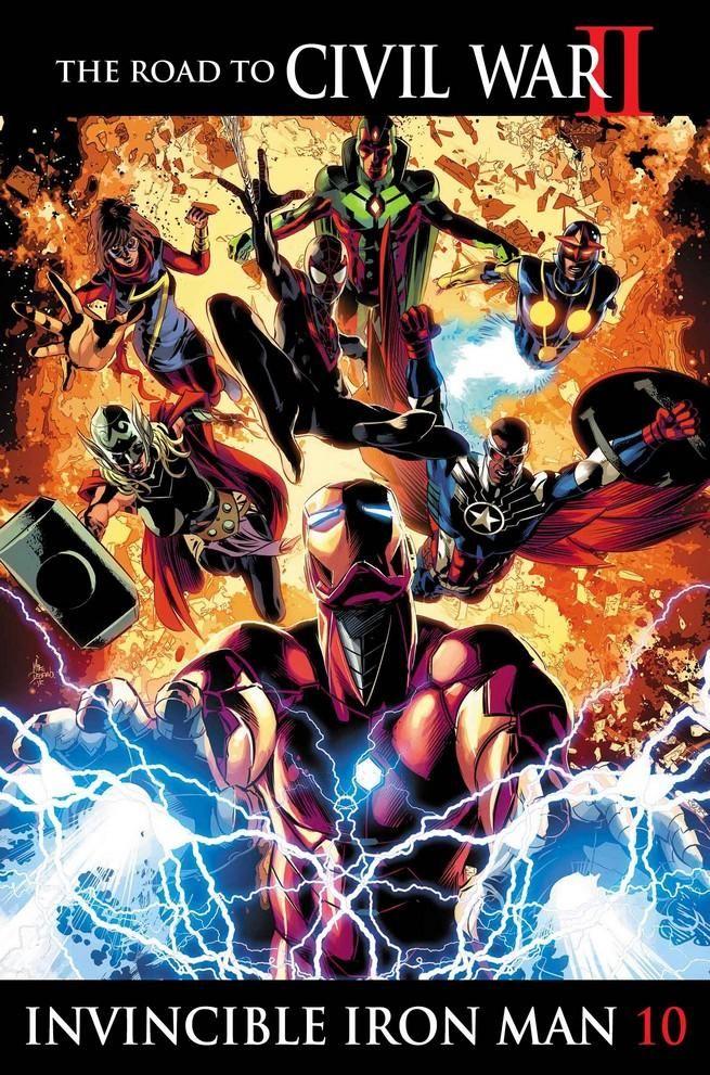 Guerra Civil II – Capa da última edição sugere um destino sombrio para Tony Stark! - Legião dos Heróis