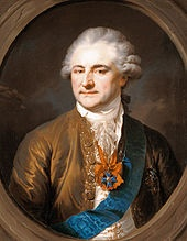 Stanisław August Poniatowski, King of Poland, by Giovanni Battista Lampi, ca. 1790. In 1764 Catherine the Great placed Stanisław Poniatowski, her former lover, on the Polish throne.