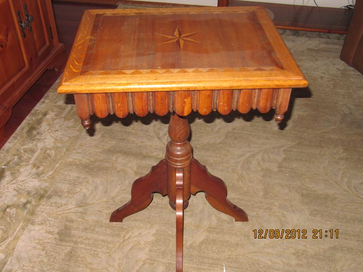 Hereu0027s A Photo Of The Museumu0027s Newest Acquisition. This Is An Authentic  Heinrich Scholl Table · Handmade FurnitureA ...