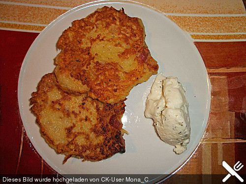 Böhmische Kartoffelpuffer
