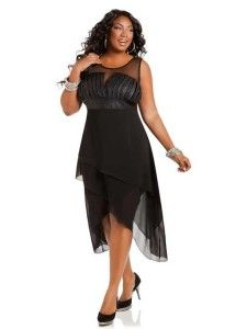 1000  images about Black plus size dresses on Pinterest  Black ...