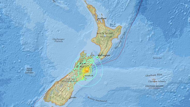 Epizentrum nahe Christchurch: Schweres Beben erschüttert Neuseeland