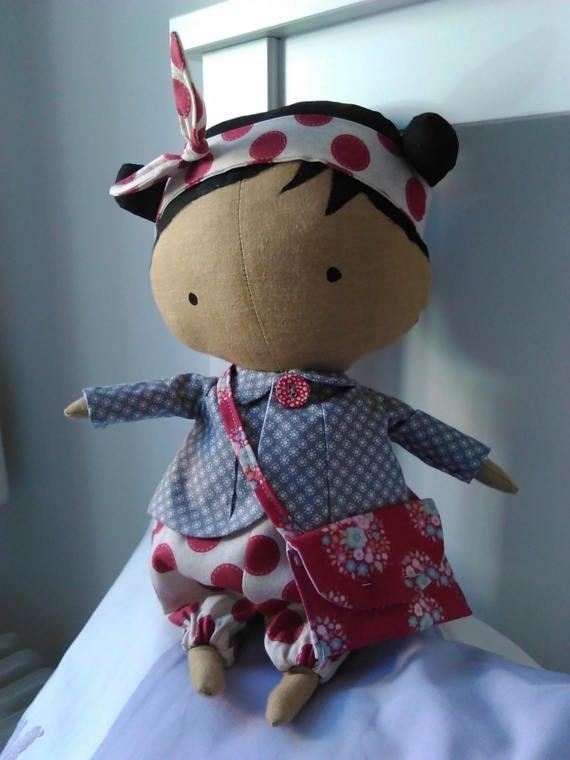 Handmade Tilda Sweetheart Doll  Approx 30 by KitchenFairiesLeeds