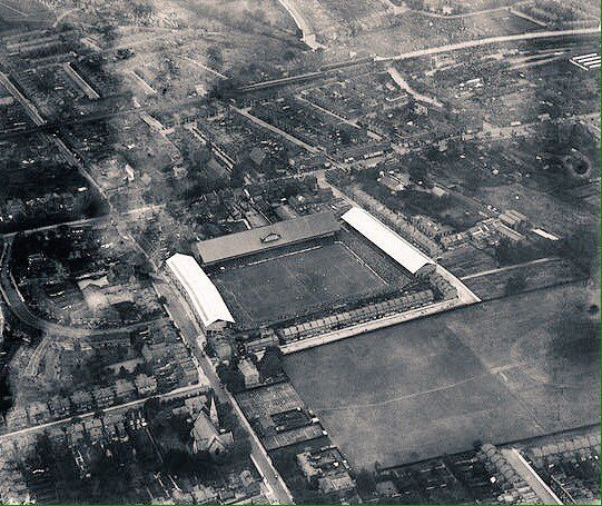 Aerial view of White Hart Lane in 1923