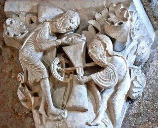 Daráló (Daráló alakok, Vézelay) - Hagyomány és múltidéző