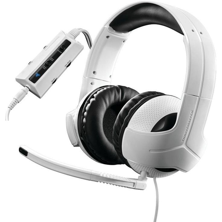 Universal Gaming Headset Headphones Video Games Microphone Ear Phones #THRUSTMASTER