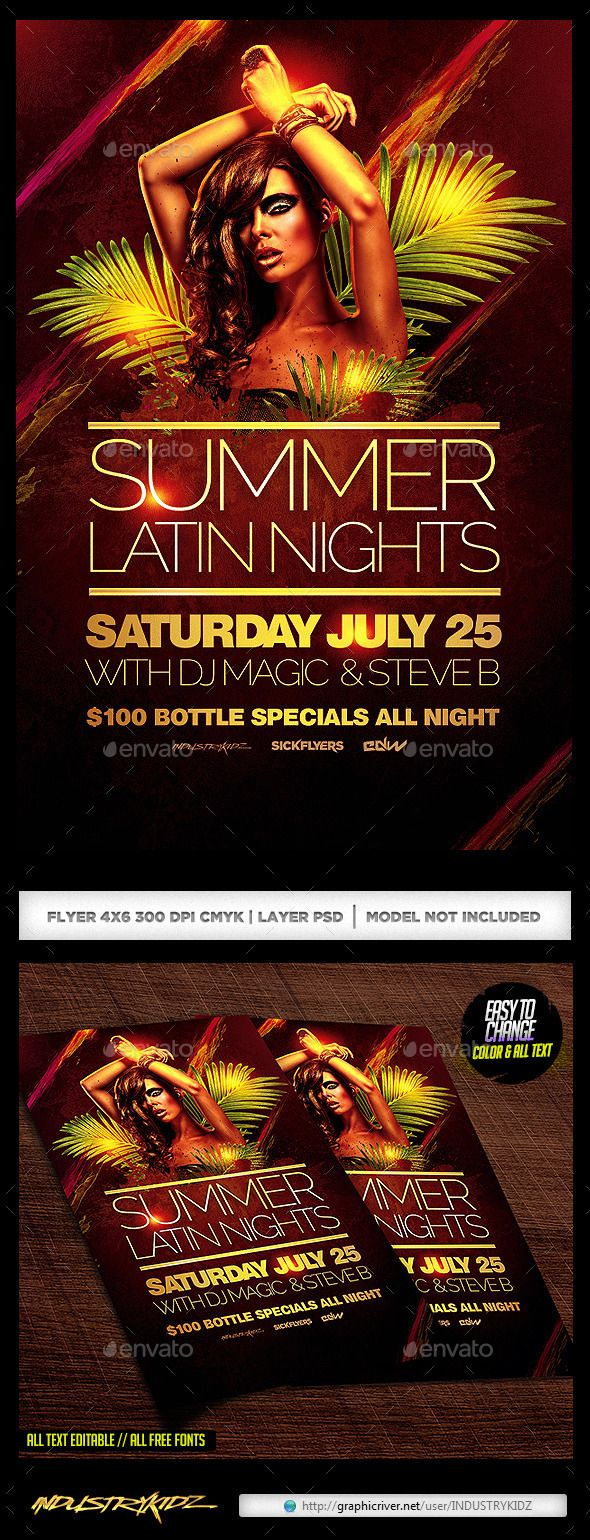 Summer Latin Nights - Clubs & Parties Events