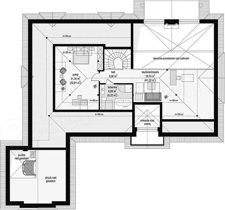 Pôdorys projektu Rezidencia Parkowa 3