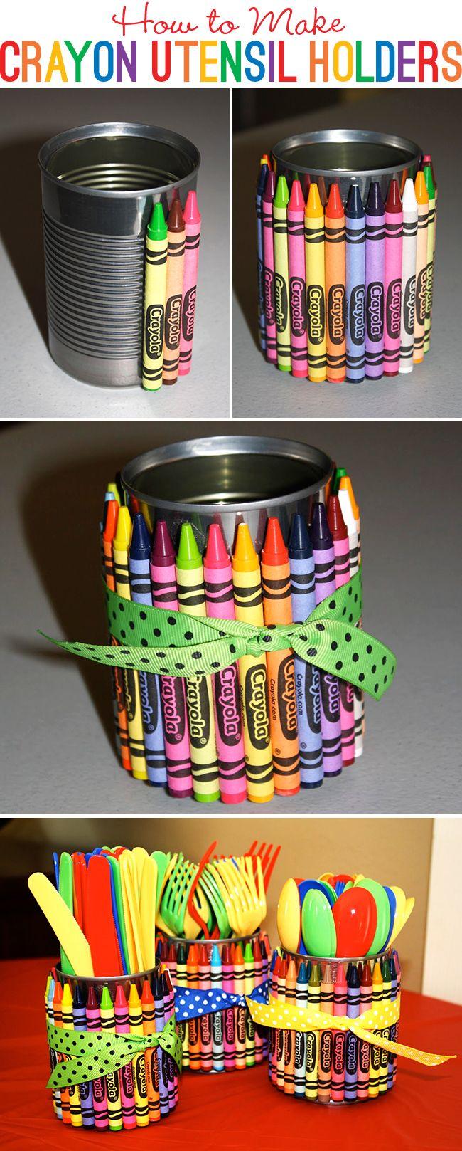Crear organizadores con latas
