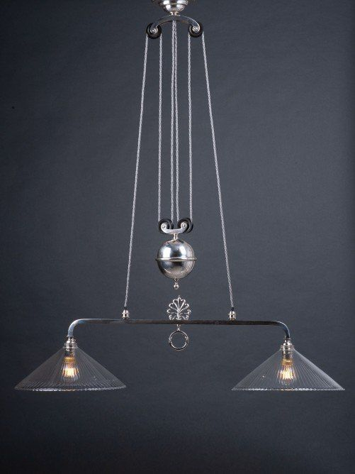 Adjustable Over Table Light Modern Rise and Fall Retro Vintage Shade Home Light