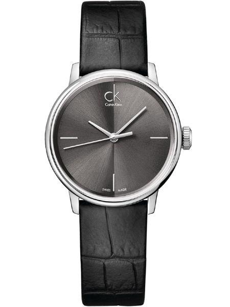 Calvin Klein horloge Accent lady K2Y2Y1C3 Zwart
