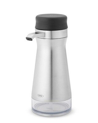 OXO Stainless-Steel Soap & Lotion Dispenser #williamssonoma