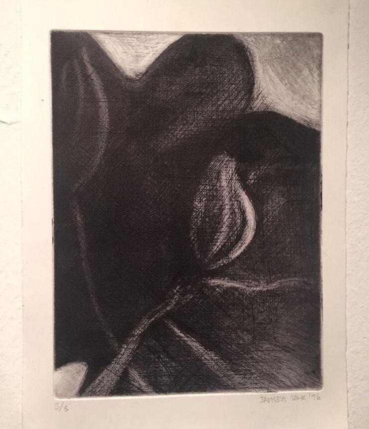 Manera negra - Calcografía 2016