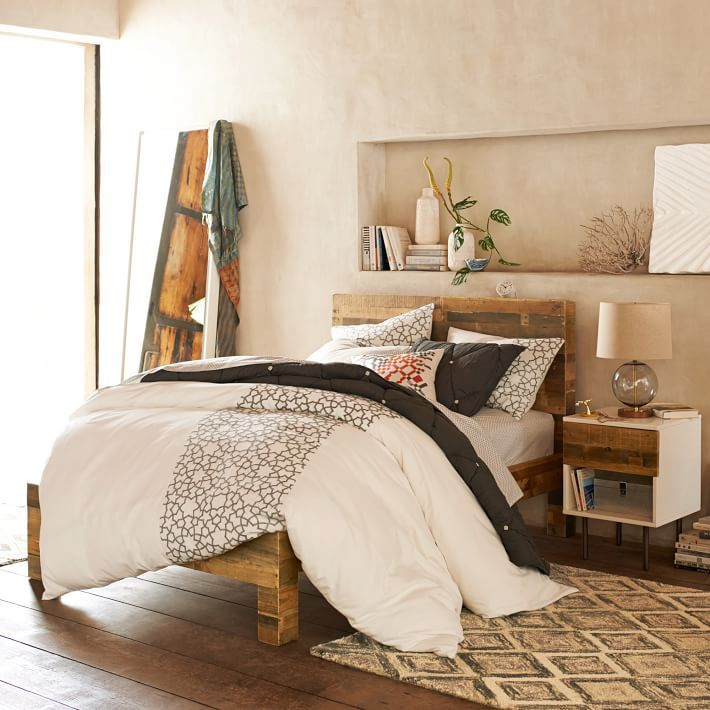 Emmerson™ Reclaimed Wood Bed - Natural