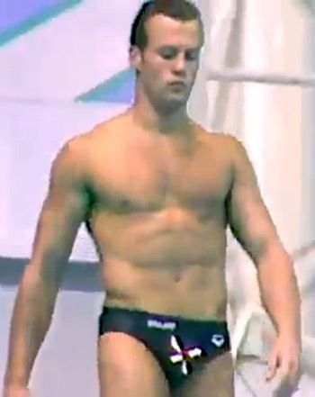 Jason Statham, 20, Diving in Speedo, With Hair in Throwback Video - Us Weekly - Quite the talented diver!