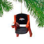 Denver Broncos Stadium Chair Ornament  #Broncos #Chair #Denver #Ornament #Stadium boisestategear.com