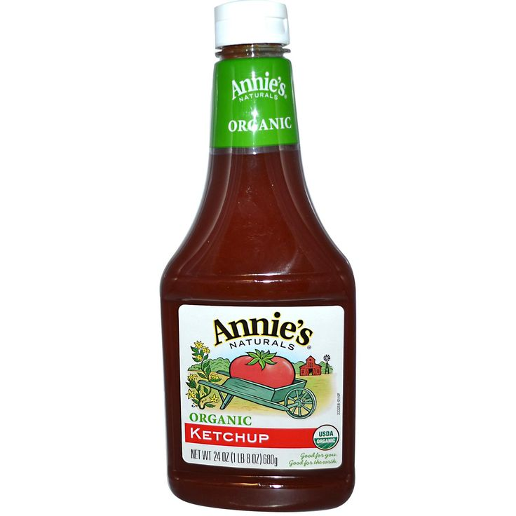 annie's natural organic ketchup nutrition -Nutrition Facts Serving Size 1 tbsp (17 g) Per Serving % Daily Value* Calories 15  Sodium 150mg 6%  Carbohydrates 3g 1%  Sugars 2g